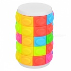 Qiyi rotate and slide puzzle magic finger cube cylindrical puzzle anxiety stress focus kids attention fidget toy gift
