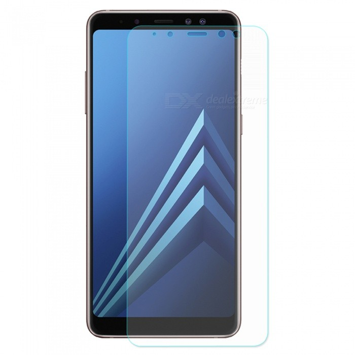 ENKAY 2.5D Tempered Glass Screen Protector for Samsung Galaxy A8 2018Screen Protectors<br>ColorTransparentModel-MaterialTempered glassQuantity1 pieceCompatible ModelsSamsung Galaxy A8 2018Features2.5D,HD,Scratch-proof,Tempered glassPacking List1 x Screen protector1 x Dust remover1 x Cleaning cloth1 x Alcohol prep pad<br>