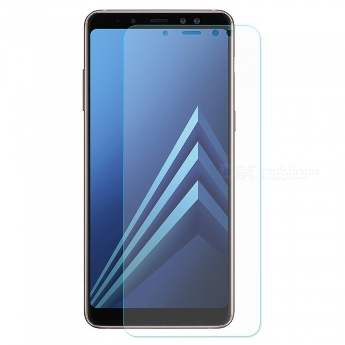 ENKAY 2.5D Tempered Glass Screen Protector for Samsung Galaxy A8+ 2018Screen Protectors<br>ColorTransparentModel-MaterialTempered GlassQuantity1 pieceCompatible ModelsTempered glassFeatures2.5D,HD,Scratch-proof,Tempered glassPacking List1 x Screen protector1 x Dust remover1 x Cleaning cloth1 x Alcohol prep pad<br>