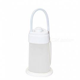 Mini USB Rechargeable 19-LED Dimmable Night Light with Hook