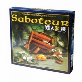 """Saboteur"" Board Game, Jeu De Base + Extension Board Game with English Instructions for Family, Friends Saboteur 1version"