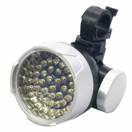 Portable Mini Super Bright White 49-LED 4-Mode Bicycle Headlight