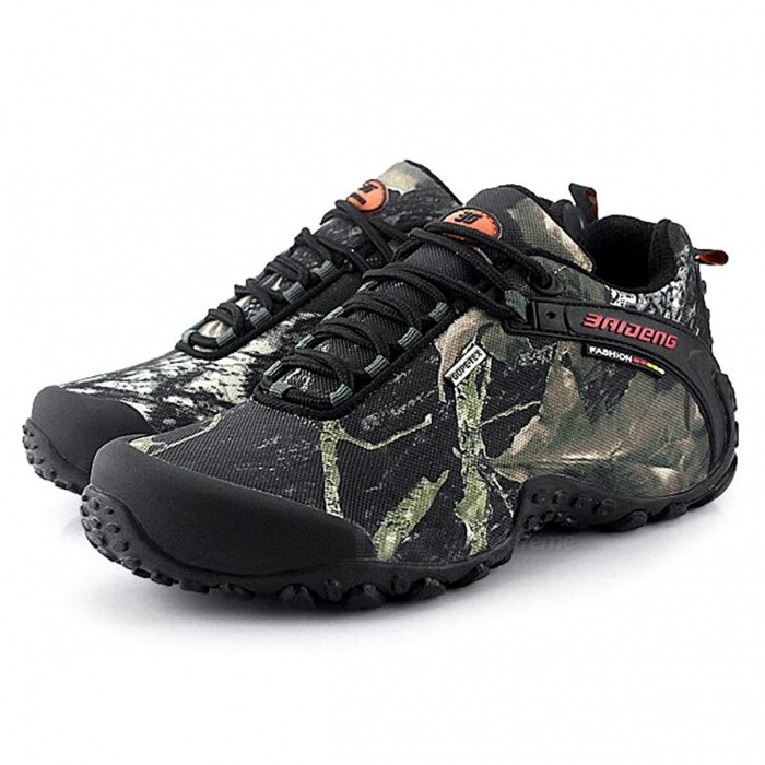 CTSmart 8068 Multifunctional Outdoor Camouflage Mens Hiking Shoes - Gray (43)Hiking Shoes<br>ColorGreySize43Model8068Quantity1 setMaterialtarpaulinsGenderMenPacking List1 x Pairs of Shoes<br>