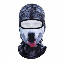 NUCKILY PK12 Winter Windproof Warm Animal Hood Bib Visor Full Face Mask for Men, Women