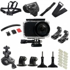 30pcs kit with waterproof camera shell + j type base + strap + band + other parts for xiaomi mijia camera