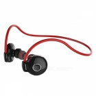 AWEI A845BL Wireless Sport Bluetooth In-Ear Earphone with Microphone - Red