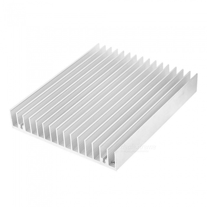 ZHAOYAO 120x100x18mm Aluminium Heat Diffuse Heat Sink Cooling Fin - SilverDIY Parts &amp; Components<br>Size120 x 100 x 18mmQuantity1 setMaterialAluminumEnglish Manual / SpecNoOther Features-Certification-Packing List1 x Cooling Fin<br>