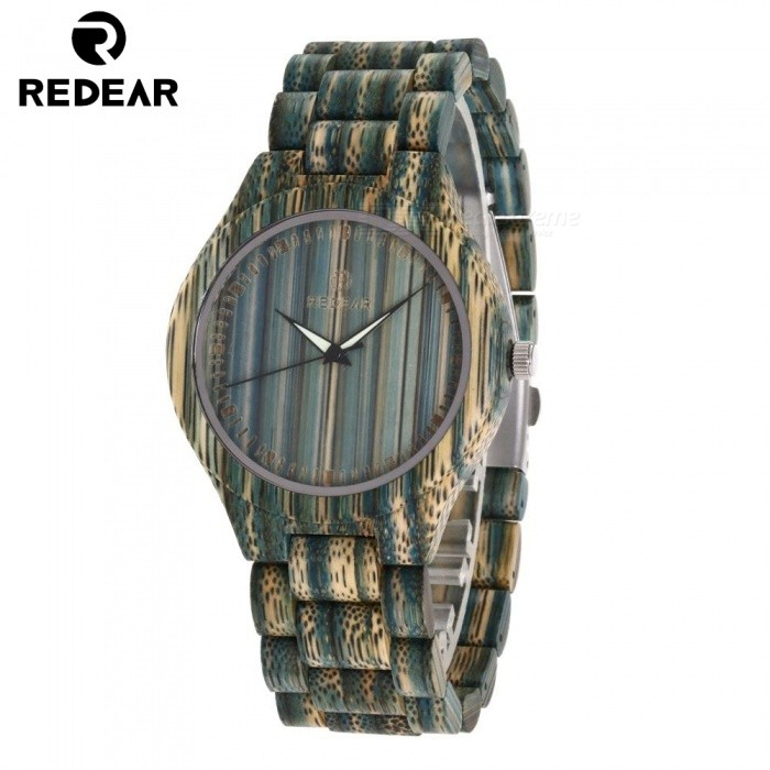 1473 Luxury Stylish Bamboo Quartz Wrist Watch for Women - BlueQuartz Watches<br>SizeBlue (43mm)Model1473Quantity1 setShade Of ColorBlueCasing MaterialBambooWristband MaterialBambooSuitable forAdultsGenderWomenStyleWrist WatchTypeCasual watchesDisplayAnalog + DigitalMovementQuartzDisplay Format12 hour formatWater ResistantFor daily wear. Suitable for everyday use. Wearable while water is being splashed but not under any pressure.Dial Diameter4.3 cmDial Thickness1.1 cmWristband Length23 cmBand Width2 cmBatterySony 626CertificationcePacking List1 x Watch1 x Box1 x Hole puncher1 x Specification<br>