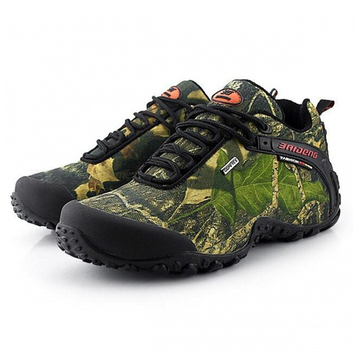 CTSmart 8068 Multifunctional Outdoor Camouflage Mens Hiking Shoes - Khaki (41)Hiking Shoes<br>ColorKhakiSize41Model8068Quantity1 setMaterialtarpaulinsGenderMenPacking List1 x Pairs of Shoes<br>