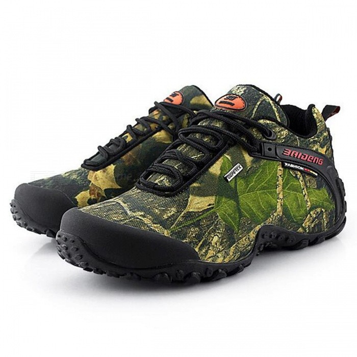 CTSmart 8068 Multifunctional Outdoor Camouflage Mens Hiking Shoes - Khaki (44)Hiking Shoes<br>ColorKhakiSize44Model8068Quantity1 setMaterialtarpaulinsGenderMenPacking List1 x Pairs of Shoes<br>