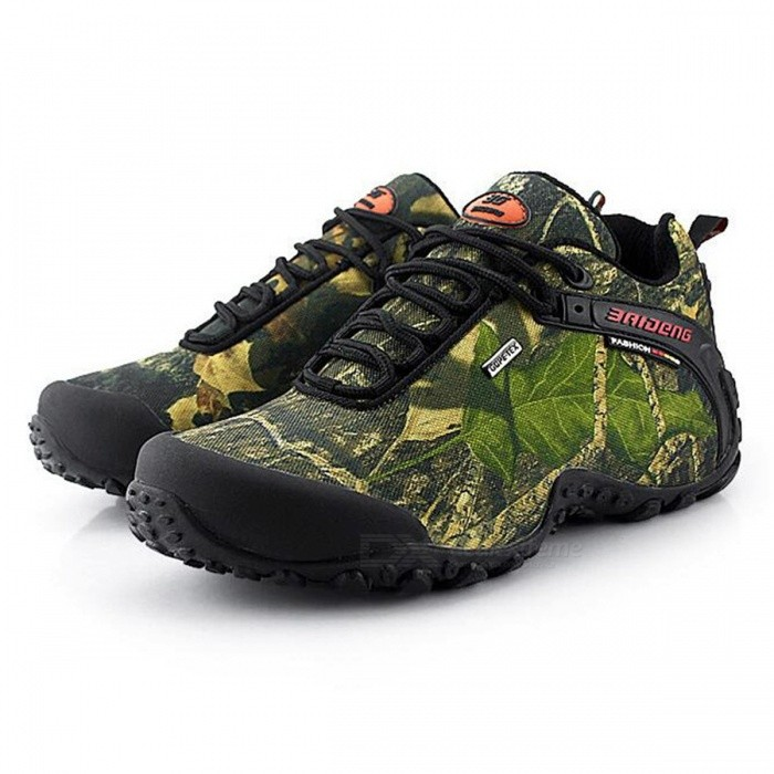 CTSmart 8068 Multifunctional Outdoor Camouflage Mens Hiking Shoes - Khkai (40)Hiking Shoes<br>ColorKhakiSize40Model8068Quantity1 setMaterialtarpaulinsGenderMenPacking List1 x Pairs of Shoes<br>