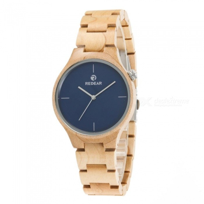 REDEAR 1603 Unisex Wooden Wrist Watch with Size Adjustment Tool for Men and Women - BlueQuartz Watches<br>Color1603Model1603Quantity1 setShade Of ColorBlueCasing MaterialWoodWristband MaterialWoodSuitable forAdultsGenderUnisexStyleWrist WatchTypeFashion watchesDisplayAnalog + DigitalMovementQuartzDisplay Format12 hour formatWater ResistantFor daily wear. Suitable for everyday use. Wearable while water is being splashed but not under any pressure.Dial Diameter4.3 cmDial Thickness1.1 cmWristband Length25 cmBand Width2 cmBatterySony 626CertificationCEPacking List1 x Watch1 x Box1 x Hole puncher1 x Specification<br>
