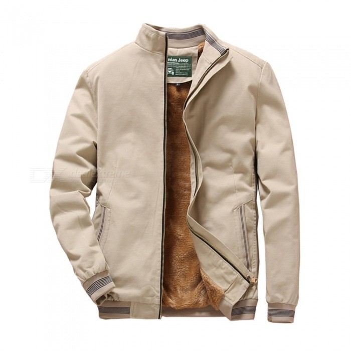 1021 Mens Winter Cool Warm Slim Jacket Coat - Khaki (4XL)Jackets and Coats<br>ColorKhakiSize4XLModel1021Quantity1 pieceShade Of ColorBrownMaterialcottonStyleFashionTop FlyZipperShoulder Width50 cmChest Girth120 cmWaist Girth120 cmSleeve Length67 cmTotal Length72.5 cmSuitable for Height190 cmPacking List1 x Jacket<br>