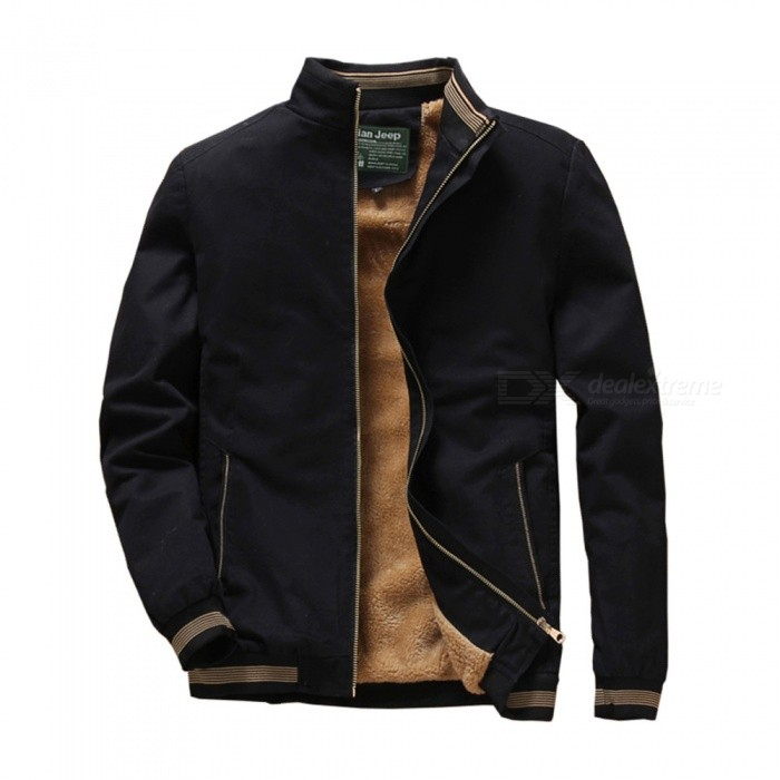 1021 Mens Winter Cool Warm Slim Jacket Coat - Black (3XL)Jackets and Coats<br>ColorBlackSize3XLModel1021Quantity1 pieceShade Of ColorBlackMaterialcottonStyleFashionTop FlyZipperShoulder Width48.5 cmChest Girth116 cmWaist Girth116 cmSleeve Length66 cmTotal Length71.5 cmSuitable for Height185 cmPacking List1 x Jacket<br>