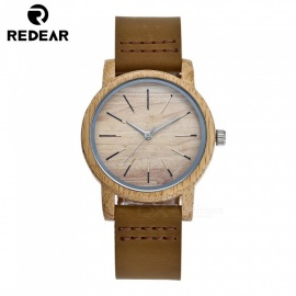 Redear 5003 Oak Wood Wrist Watch with Japan Movement