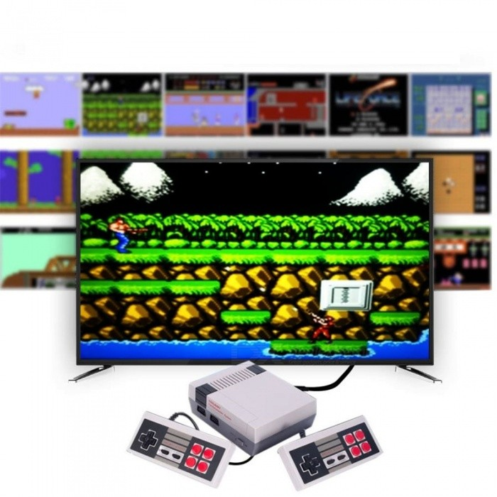 Mini Classic Edition Games Console for Nintendo NES Games (EU Plug)Other Consoles Accessories<br>Plug TypeEU PlugQuantity1 setMaterialABSPacking List1 x Game console2 x Wired controllers (joystick)1 x Audio / Video Cable for TV1 x EU plug adapter<br>