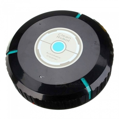 ACR001 Portable Creative Sweeping Robot, Home Automatic Cleaning Machine - Black