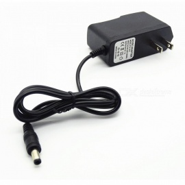 12V 1A Power Adapter 5.5mm Interface - Black (US Plug)