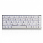 Ajazz wireless bluetooth zinc alloy mechanical keyboard - cheery blue switch