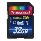 Genuine Transcend SDHC Memory Card - 32GB (Class 10)