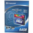 Genuine Transcend Premium 400x CompactFlash CF Memory Card - 64GB
