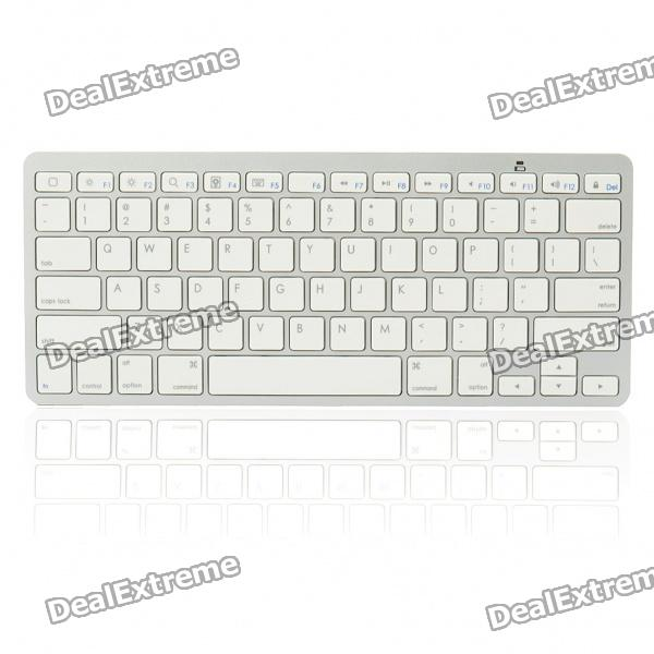 78-Key Ultra-Slim Portable Bluetooth Wireless Keyboard (2 * AAA)