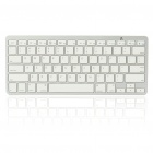 78-Key Ultra-Slim Portable Bluetooth Wireless Keyboard (2*AAA)