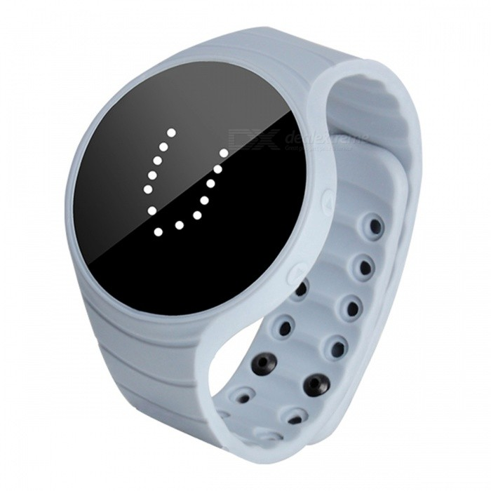 DMDG Smart Bracelet Fitness Tracker IP66 Waterproof Pedometer Wristband Vibration Alarm Clock - GreySmart Bracelets<br>ColorGrayModelN/AQuantity1 pieceMaterialEnvironmental siliconeWater-proofIP66Bluetooth VersionNoTouch Screen TypeNoOperating SystemNoCompatible OSNOBattery Capacity11 mAhBattery TypeLi-ion batteryStandby Time30 daysPacking List1 x Smart Bracelet1 x User Manual<br>