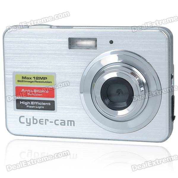 "5.0MP CMOS Compact Digital Video Camera w/ 8X Digital Zoom/SD Slot (2.7"" TFT LCD)"