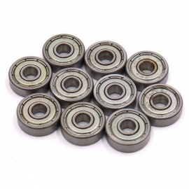 RXDZ 10Pcs 625Z 5mm x 16mm x 5mm Shielded Deep Groove Radial Ball Bearings