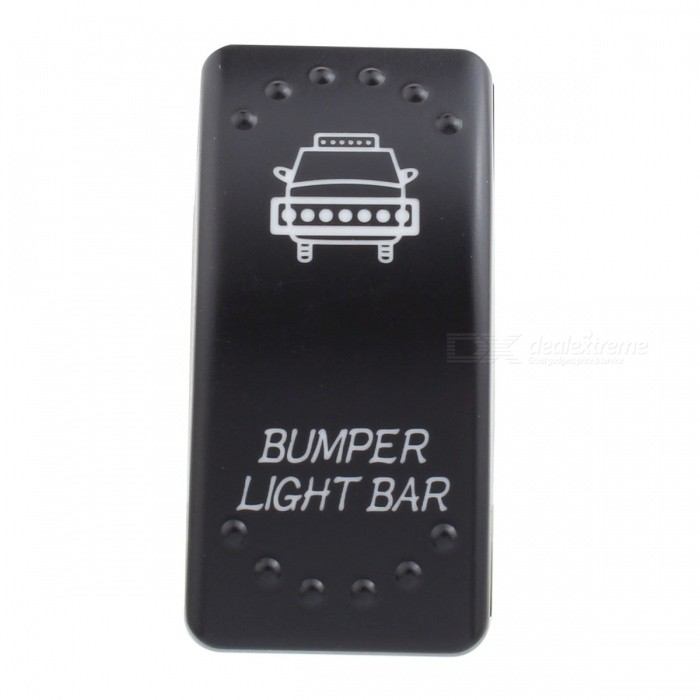 MZ Bumper Pattern 5Pin Refit Rocker Switch for LED Work Light, On/Off Toggle SwitchCar Light Accessories<br>ModelSwitch - BumperModelSwitch-BumperQuantity1 setMaterialPlasticPowerN/A WVoltage12-24 VApplicationToggle SwitchSuitable forUniversalPacking List1 x Switch3 x Cables<br>