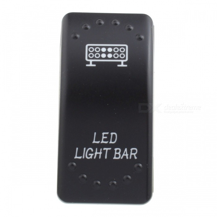 MZ Light Bar Pattern 5Pin Refit Rocker Switch for LED Work Lamp, On/Off Toggle SwitchCar Light Accessories<br>ModelSwitch - Light BarModelSwitch-Light BarQuantity1 setMaterialPlasticPowerN/A WVoltage12-24 VApplicationToggle SwitchSuitable forUniversalPacking List1 x Switch3 x Cables<br>