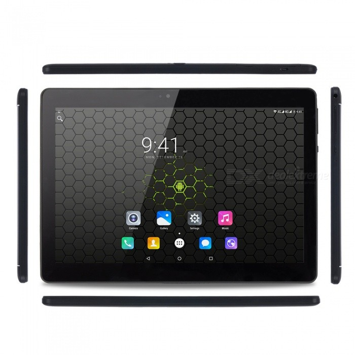 "Binai G10 mediatek MT6753 Octa-Core 1.5 GHz Mali720 Grafik 10.1"" Tablet mit 3 GB RAM, 64 GB ROM - schwarz"