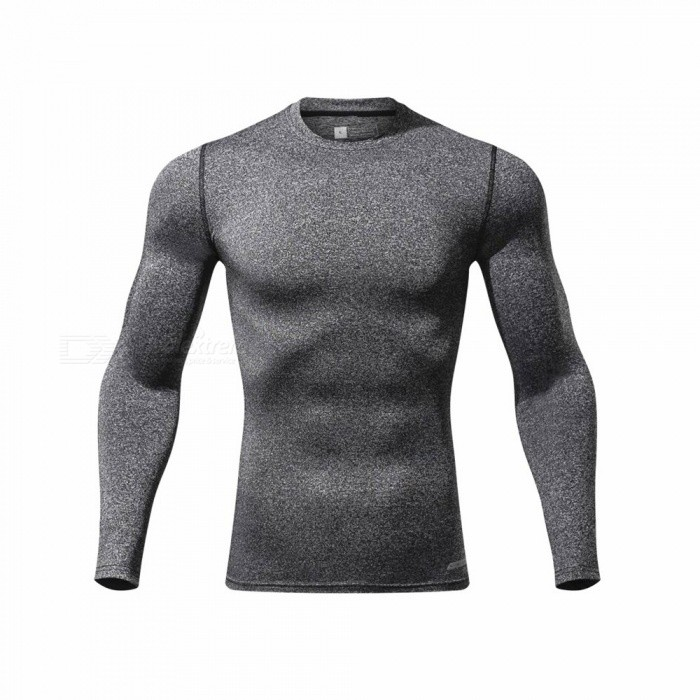 CTSmart L119 Summer New Tight-Fitting Fitness Long Sleeve Quick-Drying T-shirt - Light Gray (M)Hoodies &amp; Sweatshirts<br>ColorLight graySizeMModelL119Quantity1 pieceShade Of ColorGrayMaterialPolyester + spandexStyleSportsShoulder Width43 cmChest Girth86 cmWaist Girth86 cmSleeve Length67.5 cmTotal Length65 cmSuitable for Height165 cmPacking List1 x Quick-drying Clothes T-shirt<br>