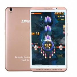 "Binai Mini8 HD 4G Android 6.0 8"" Tablet PC with 2GB RAM, 16GB ROM - Rose Gold"