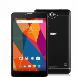 "Binai X7 3G Quad-Core Android 6.0 Wi-Fi GPS 3G 7"" Tablet PC with 1GB RAM, 8GB ROM - Black"