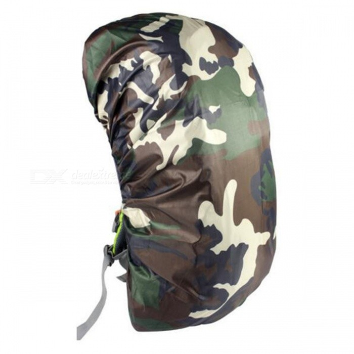 CTSmart 35L Outdoor Mountaineering Camouflage Wearable Backpack Protection Cover - Jungle Camouflage