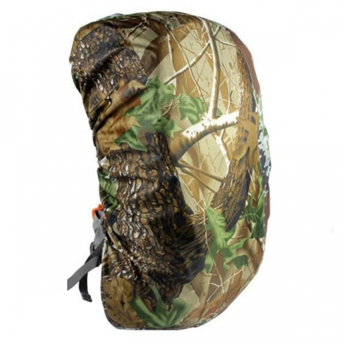 CTSmart 35L Outdoor Mountaineering Camouflage Wearable Backpack Protection Cover - Maple Leaf Camo