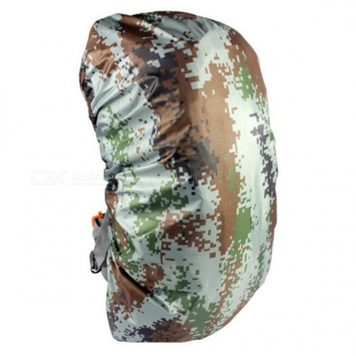 CTSmart 45L Outdoor Mountaineering Camouflage Wearable Backpack Protection Cover - Digital Vamouflage