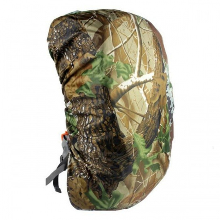 CTSmart 60L Outdoor Mountaineering Camouflage Wear-Resistant Backpack Cover - Maple Leaf Camo