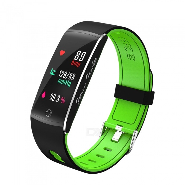 F10 IP68 Waterpoof 0.96 Smart Bracelet with Caller Reminder, Heart Rate Blood Pressure Monitor - GreenSmart Bracelets<br>ColorGreenQuantity1 setMaterialABSWater-proofIP68Bluetooth VersionBluetooth V4.0Touch Screen TypeYesCompatible OSAndroid 4.4&amp; above ,iOS 7.1 &amp; aboveBattery Capacity90 mAhBattery TypeLi-polymer batteryStandby Time5-7 daysPacking List1 x F10 Smart Wristband1 x Charging Cable1 x User Manual<br>