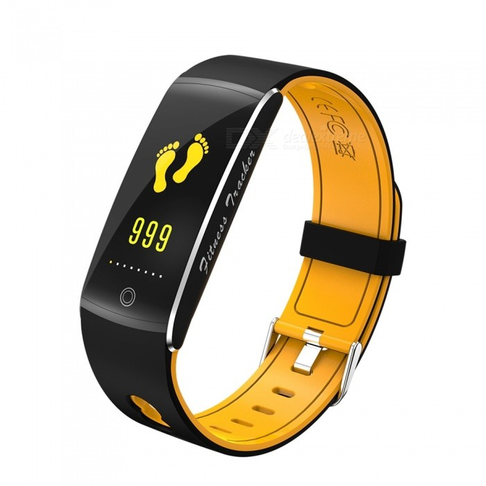 F10 IP68 Waterpoof 0.96 Smart Bracelet with Caller Reminder, Heart Rate Blood Pressure Monitor - OrangeSmart Bracelets<br>ColorOrangeQuantity1 setMaterialABSWater-proofIP68Bluetooth VersionBluetooth V4.0Touch Screen TypeYesCompatible OSAndroid 4.4&amp; above ,iOS 7.1 &amp; aboveBattery Capacity90 mAhBattery TypeLi-polymer batteryStandby Time5-7 daysPacking List1 x F10 Smart Wristband1 x Charging Cable1 x User Manual<br>