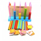 Portable number calculation development educational toy kit for children