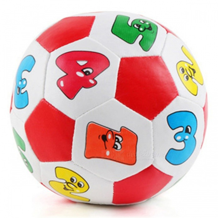 Colorful Soft Ball Educational Toy for KidsEducational Toys<br>ColorColorfulMaterialArtificial leatherQuantity1 setSuitable Age 3-6 months,6-9 months,9-12 monthsPacking List1 x Ball Toy<br>