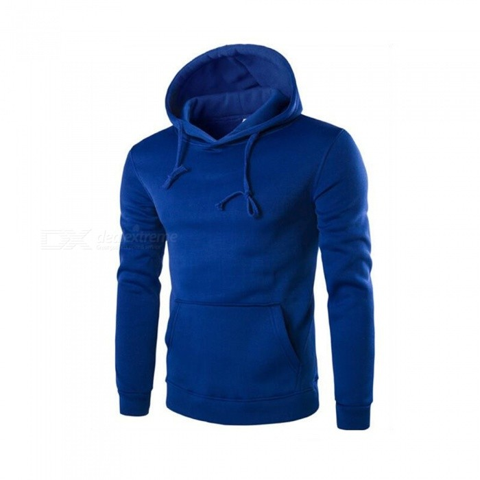 CTSmart 1366-WY14 Mens Casual Fleece Sweatshirt Hoodie - Blue (M)Hoodies &amp; Sweatshirts<br>ColorBlueSizeMModel1366-WY14Quantity1 pieceShade Of ColorBlueMaterialCotton + polyester cottonStyleSportsShoulder Width42 cmChest Girth100 cmWaist Girth100 cmSleeve Length61 cmTotal Length62 cmSuitable for Height170 cmPacking List1 x Sweater<br>