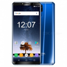 "OUKITEL K6 6.0 ""FHD+ Full Screen 18:9  2160*1080 Octa-core 2.0GHz Face ID 4G Smartphone MT6763 5V/3A 6GB RAM 64GB ROM - Blue"