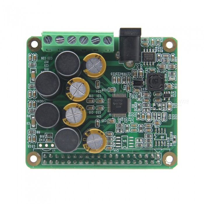 Geekworm HIFI AMP Expansion Board Audio Module for Raspberry Pi 3 Model B / Pi 2B / B+Raspberry Pi<br>ColorRPI-HIFI-AMPModelRPI-HIFI-AMPQuantity1 pieceMaterialPCB + electronic componentsEnglish Manual / SpecNoDownload Link   http://www.raspberrypiwiki.com/index.php/RPI_HIFI_AMPPacking List1 x HIFI AMP Board<br>