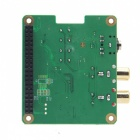 Geekworm RPI-HIFI-DAC PCM5122 HIFI DAC Audio Card Expansion Board for Raspberry Pi 3 Model B, 2B, B+