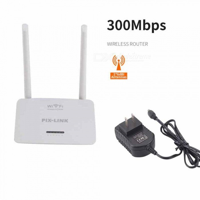 300M Wireless Router Home Wireless Router Wireless Repeater - White (US Plug)Routers<br>ColorWhitePower AdapterUS PlugQuantity1 pieceMaterialABSShade Of ColorWhiteTypeRouterTransmission RateOthers,300M bpsNetwork ProtocolsIEEE 802.11a,IEEE 802.11n,IEEE 802.11b,IEEE 802.11gUI LanguageEnglishSupport DD-WRTYesPacking List1 x Router1 x Power supply (AC100-240V wire length 30cm)1 x RJ 45 cable1 x English manual<br>