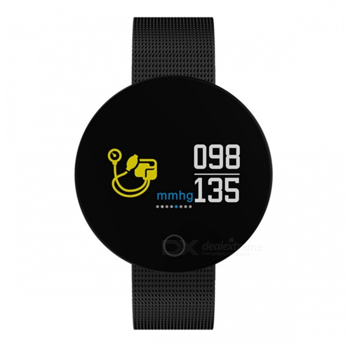 Ordro 007PRO 0.96 Inch Smart Bracelet with Heart Rate and Blood Pressure Test - BlackSmart Bracelets<br>ColorBlackModel007PROQuantity1 setMaterialStainless steel  &amp; alloyShade Of ColorBlackWater-proofIP67Bluetooth VersionBluetooth V4.0Touch Screen TypeTFTCompatible OSAndroid 4.4 and above, IOS 8.0 and aboveBattery Capacity90 mAhBattery TypeLi-polymer batteryStandby Time21 daysPacking List1 x Smart bracelet1 x USB cable (30cm)1 x Users manual<br>